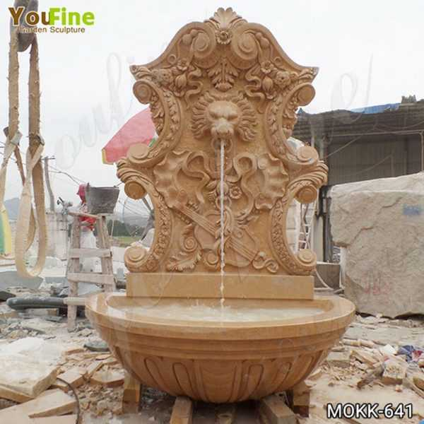 Modern Outdoor Marble Water Wall Fountain for Sale MOKK-641