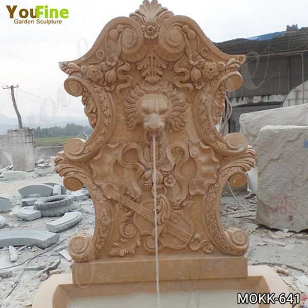 Modern Outdoor Marble Water Wall Fountain for Sale
