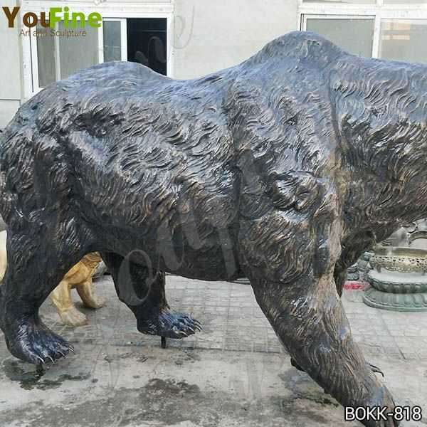 Outdoor Life Size Bronze Grizzly Bear Statue Sale Online