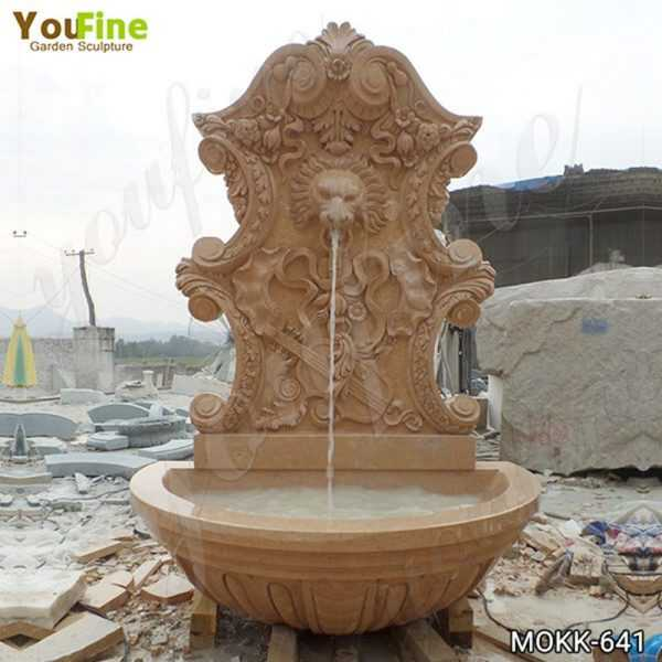 Outdoor Marble Water Wall Fountain