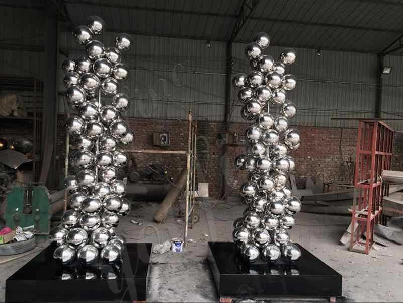 Popular Stainless Steel Ball Sculpture