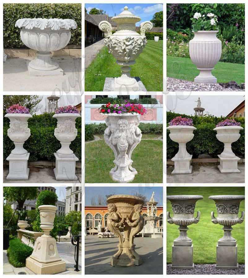 Stone-Flower-Pots