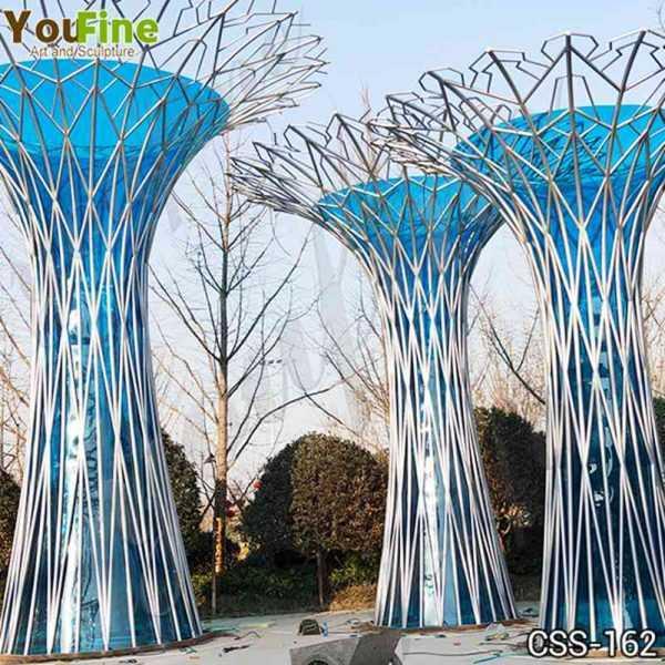 Contemporary Urban Art Abstract Stainless Steel Sculpture Supplier  CSS-162