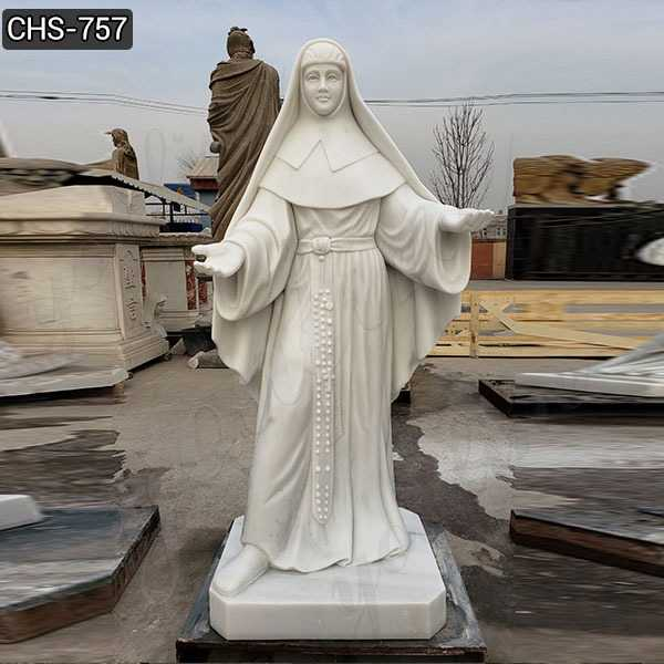 Custom Made Ven.Catherine McAuley Marble Statue for Sale CHS-757