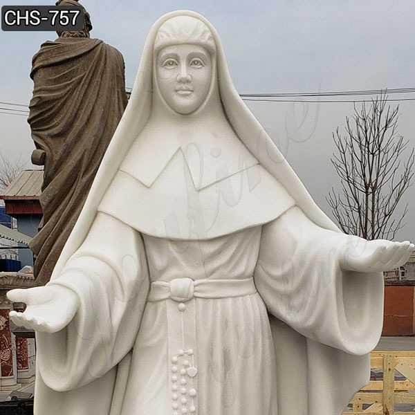 Ven.Catherine McAuley Marble Statue