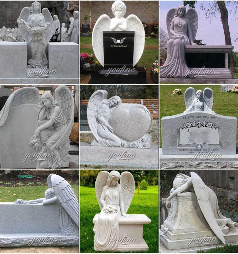 Weeping Angel Memorial Headstones Supplier