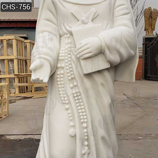 White Marble St. Mary of the cross of Mckillop for Sale