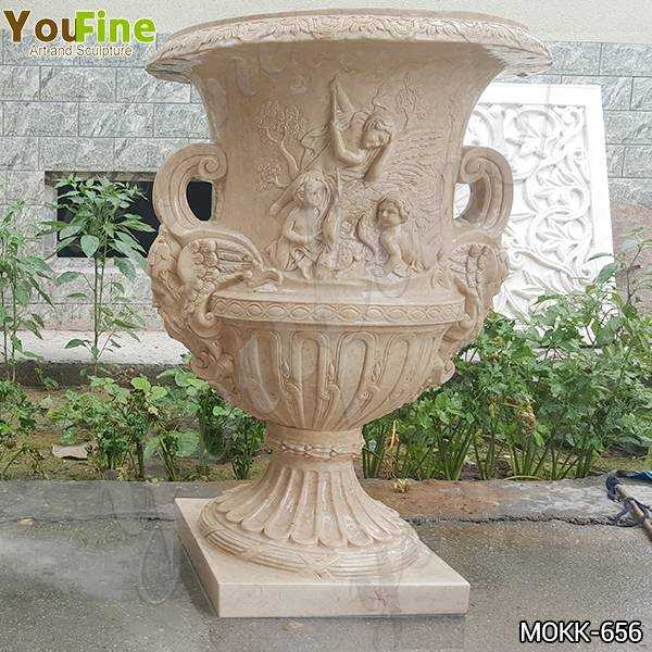 Yellow Marble Planters and Pots Manufacturers