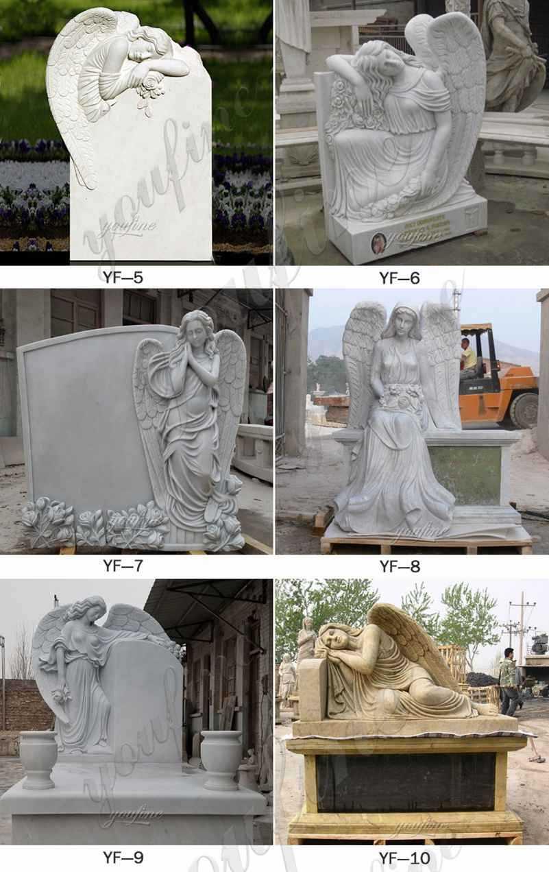 life-size-marble-elegant-angel-headstones-for-sale