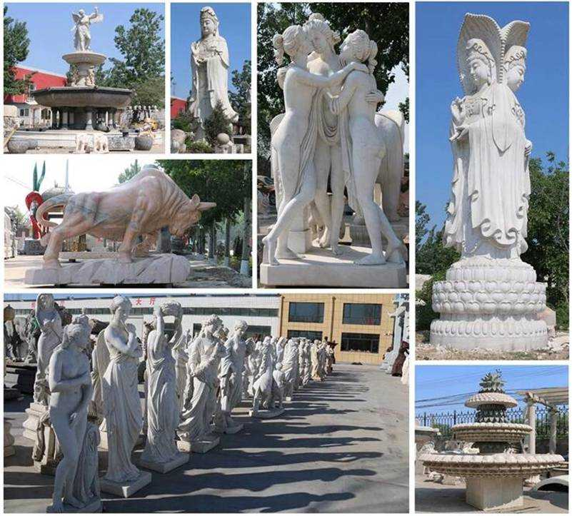 more designs of marble staute