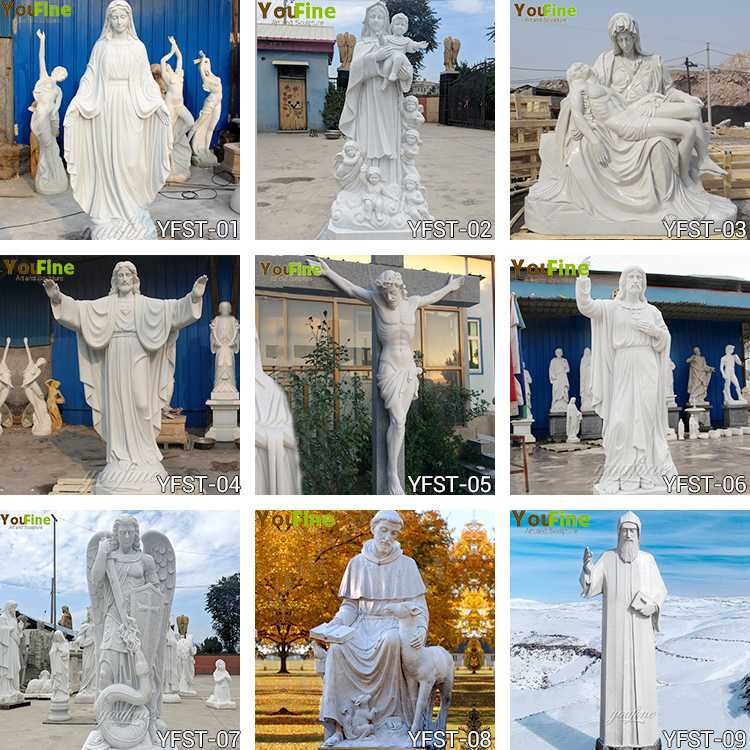 outdoor religious statues near me