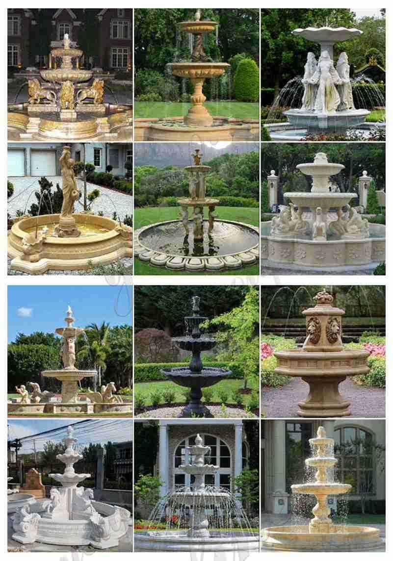 stone fountains near me
