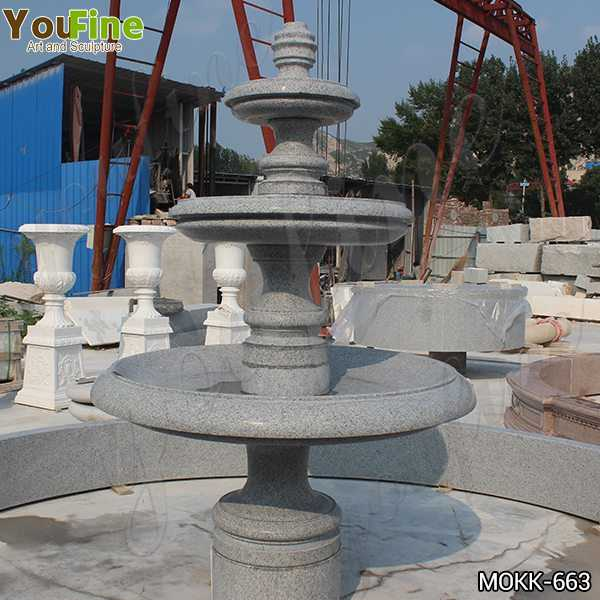 stone water fountains near me