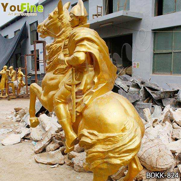 Bronze Knight on Horse Statue Suppliers