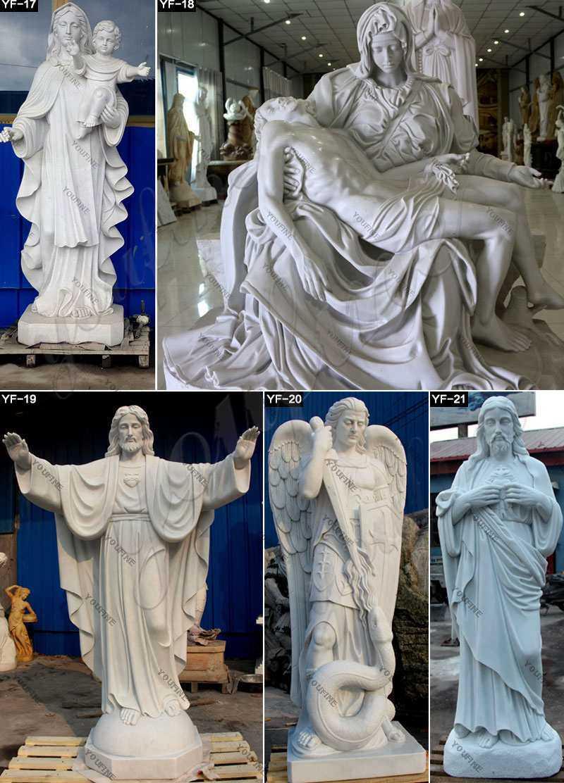 Catholic St. Francis Xavier Marble Statue