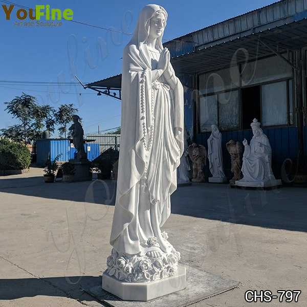 Classic Our Lady of Lourdes Statue for Sale