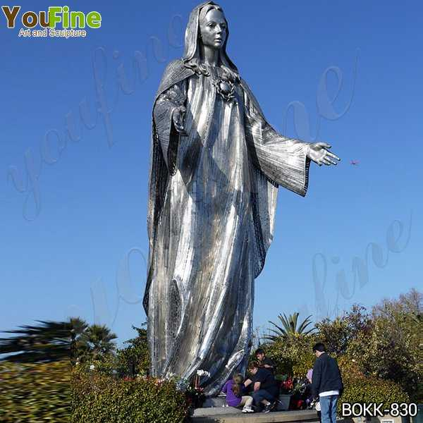 Famous Our Lady of Peace Shrine Bronze Statue for Sale