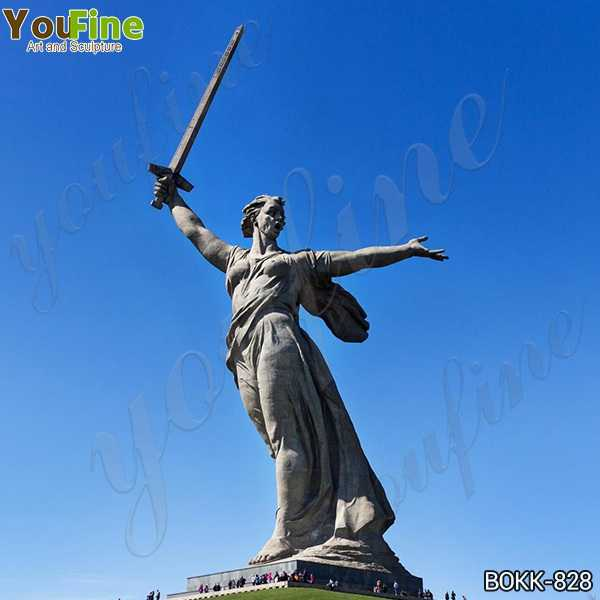 Giant the Motherland Calls Monument Bronze Statue Project BOKK-828