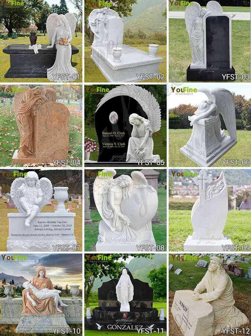 Granite Heart Shaped Headstone Monument Supplier