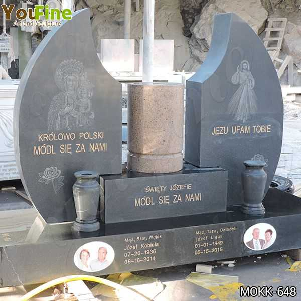 High Quality Church Granite Tombstone for Cemetery Suppliers