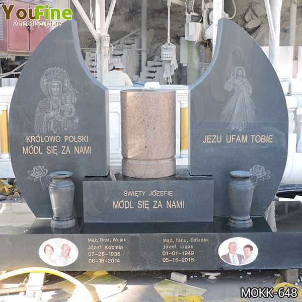 High Quality Church Granite Tombstone for Cemetery