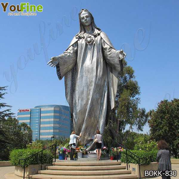 Large Famous Our Lady of Peace Shrine Bronze Statue for Sale BOKK-830