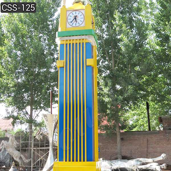 Large Modern Stainless Steel Abstract Clock Suppliers