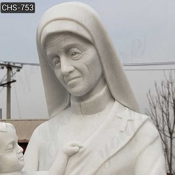Marble St. Teresa of Calcutta with Children Statue Suppliers