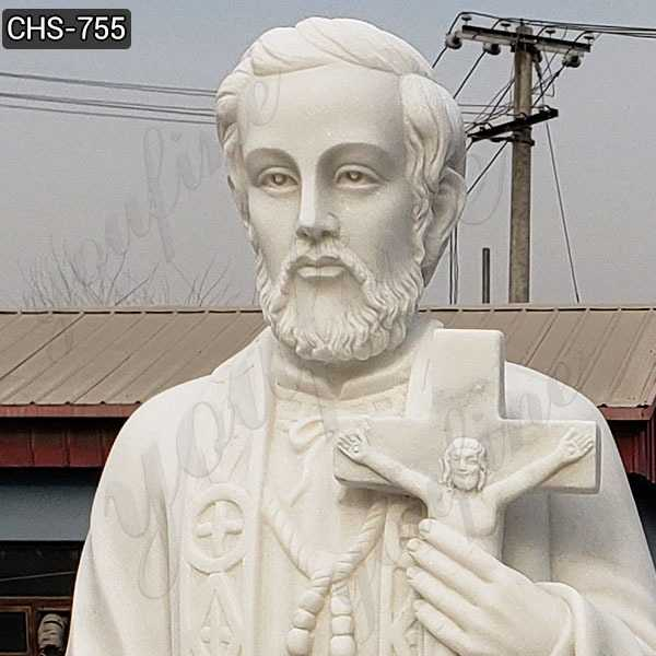 Outdoor St. Francis Xavier Marble Statue Suppliers