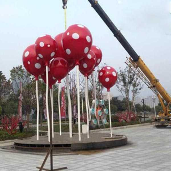 Outdoor Stainless Steel Balloon Sculptures for Sale