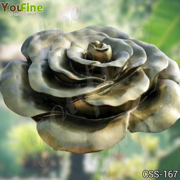 Stainless Steel Flower Garden Sculpture Factory