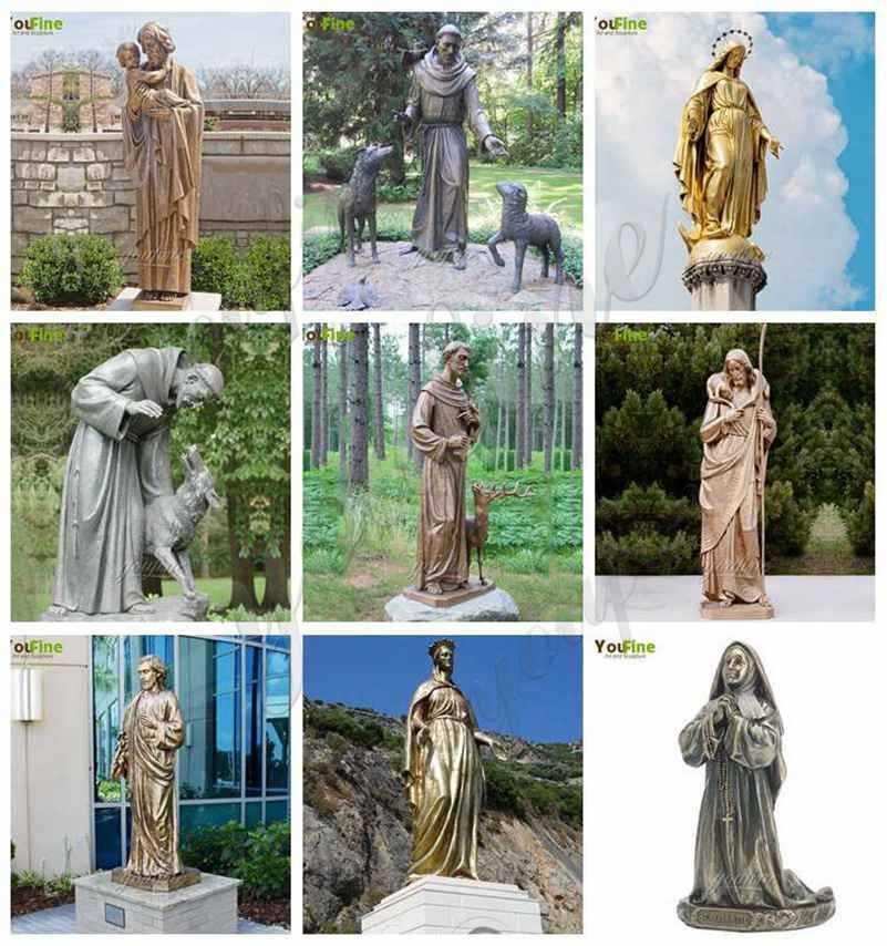 bronze religious statues for sale