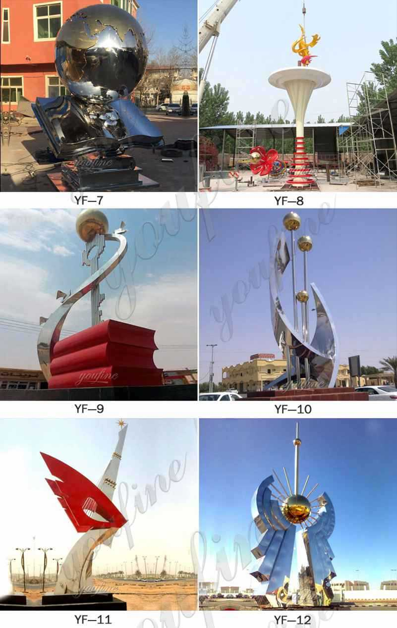 contemporary outdoor sculptures for sale