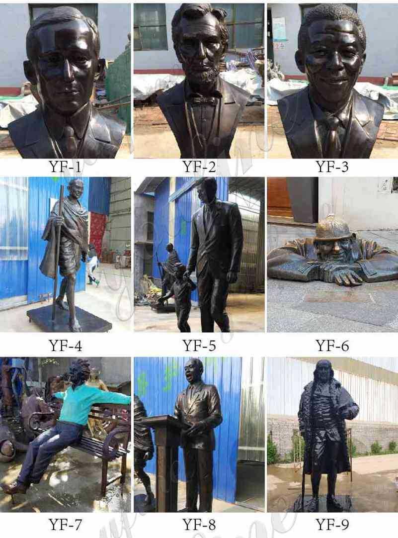 custom made bronze statues