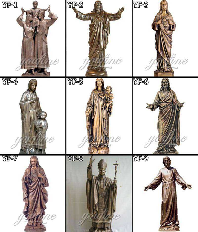 stations of the cross large statues