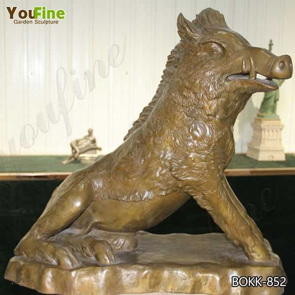 Best Price the Famous Bronze Boar Statue on Stock for Sale
