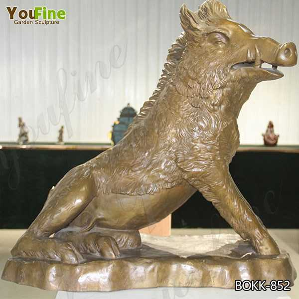 Best Price the Famous Bronze Boar Statue on Stock