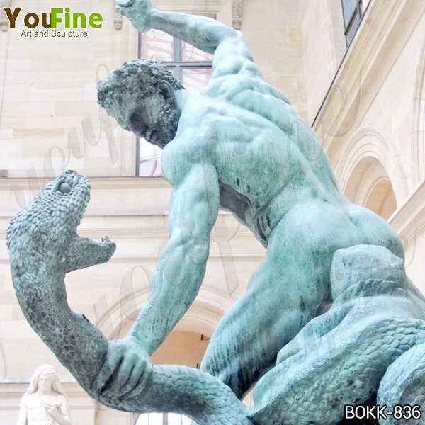 Bronze Hercules Fighting Achelous Statue Replica for Sale