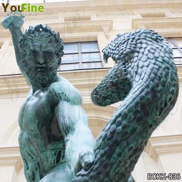 Bronze Hercules Fighting Achelous Statue Replica