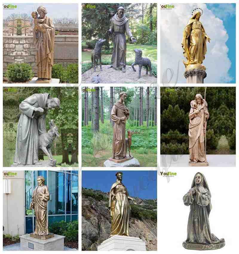 Bronze Religious Sculptures