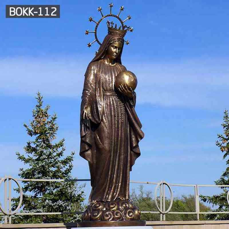 Casting Bronze Virgin Mary Statues