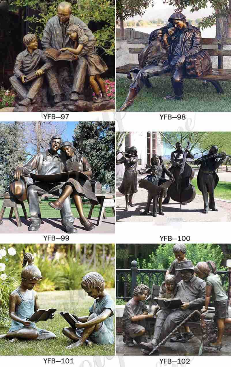 Custom made bronze statues for sale
