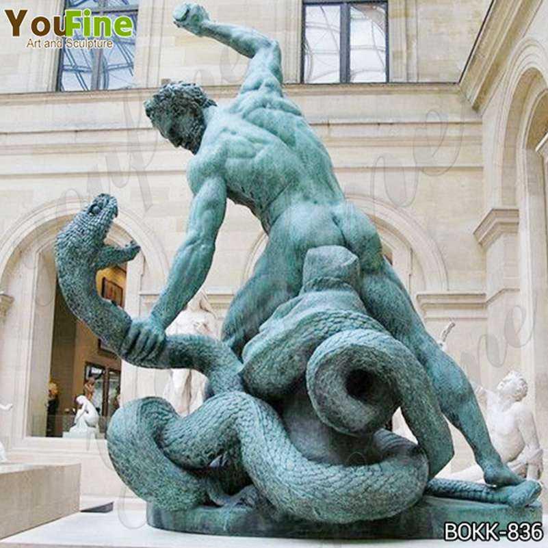 Famous Bronze Hercules Fighting Achelous Statue Replica for Sale BOKK-836