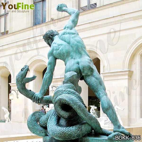 Famous Bronze Hercules Fighting Achelous Statue Replica