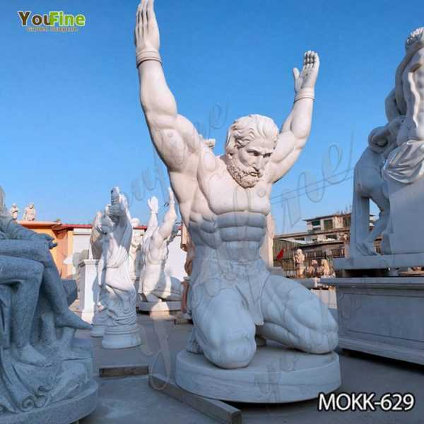 Famous Life Size Marble Atlas Man Statue