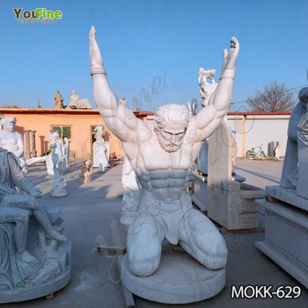 Famous Life Size Marble Atlas Man Statue Suppliers