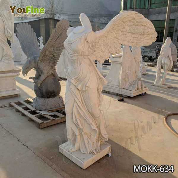 Famous Life Size Marble Winged Victory of Samothrace Statue for Sale
