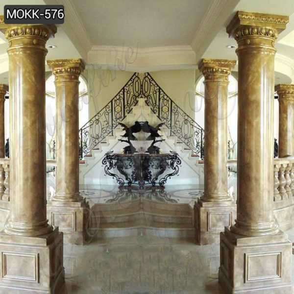 High Quality Granite Marble Column for Home Decor Suppliers MOKK-576