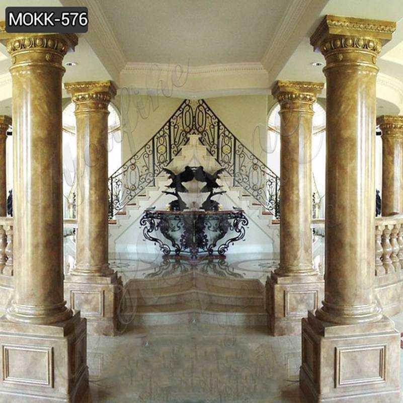 High Quality Granite Marble Column for Home Decor Suppliers MOKK-576