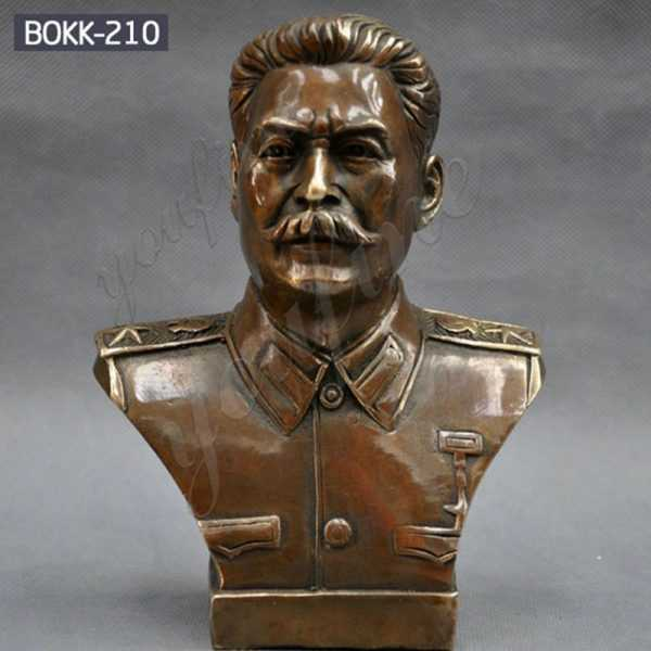 Famous Russian Leader Joseph Stalin Bust Bronze Statue for Sale BOKK-210